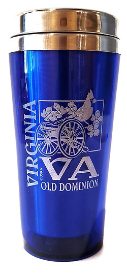 VA Blue or Red Seal Water Bottle