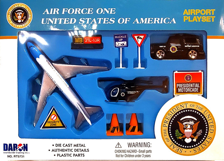 Toys - Air Force One Plane Set