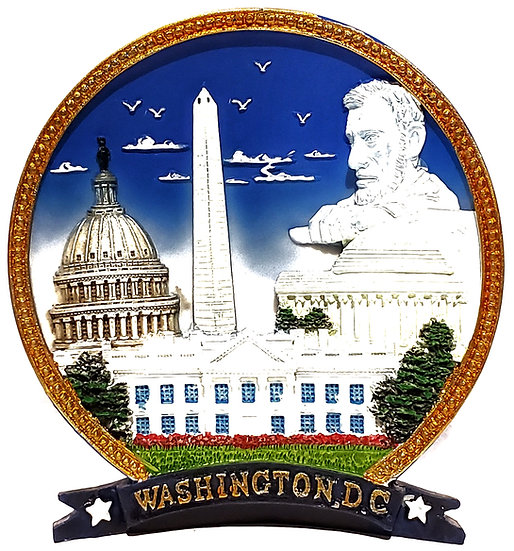 Plate - Washington DC Capitol