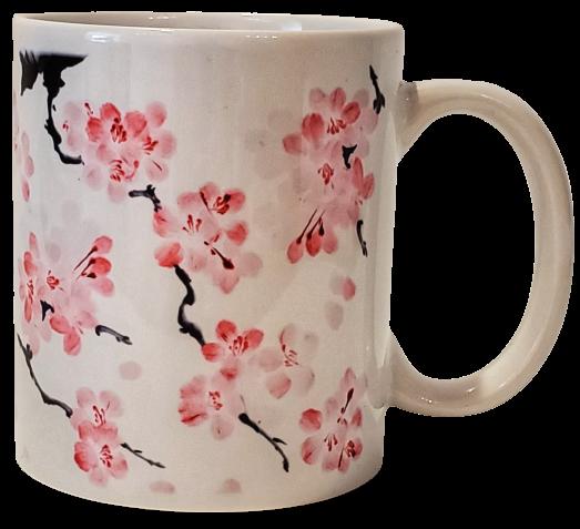 Mug - NCBF Japanese Cherry Blossom Petals Sublimation