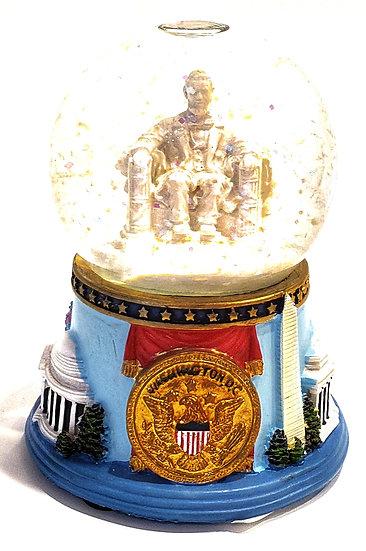 Lincoln Memorial Snow Globe