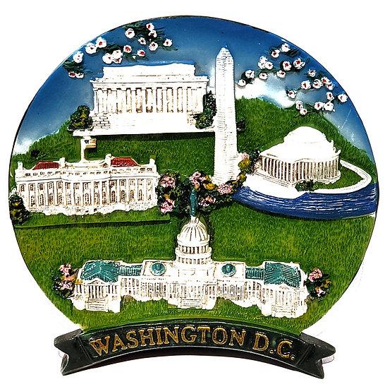 Plate - Washington DC Scene