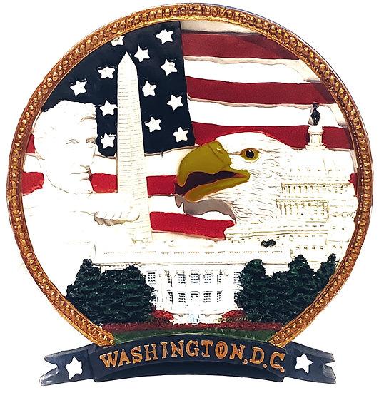 Washington DC Lincoln Plate