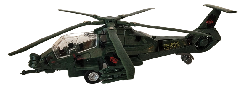Toys - Air Force Helicopter
