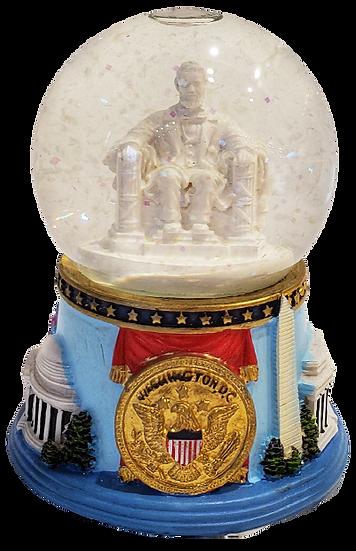 Snow Globe - Lincoln Memorial