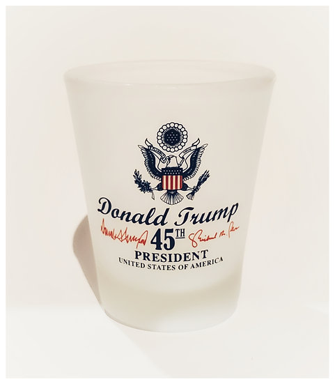 Shot Glass - Donald Trump Frosted