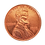 """Thumbnail: Jumbo Coin - Collector One Cent 1972 Replica - 3"""""""