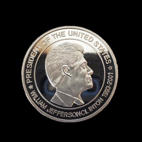 """Jumbo Coin - Collector Bill Clinton - 3"""""""