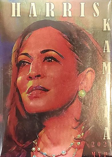 Kamala Harris Art Deco Magnet