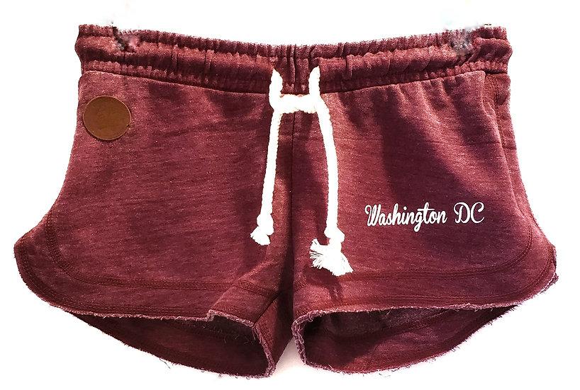 Junior Shorts - Maroon