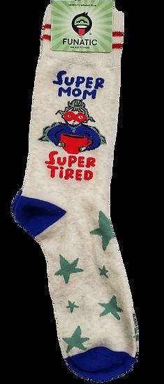 Socks - Super Mom Super Tired