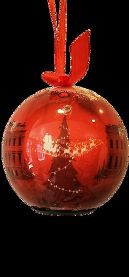Lighted Washington DC Christmas Ornaments