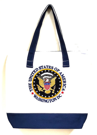 Tote Bag - Embroidered Canvas