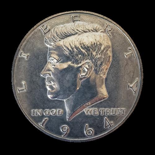 """Jumbo Coin - Collector 1964 Half Dollar Replica - 3"""""""