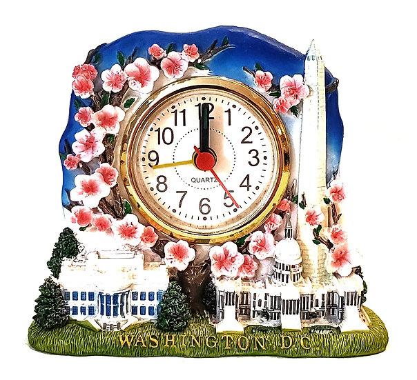 Replicas - Cherry Blossoms Scene Clock