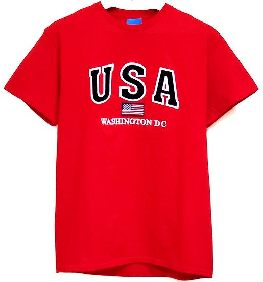 T-shirt - USA Washington DC Flag