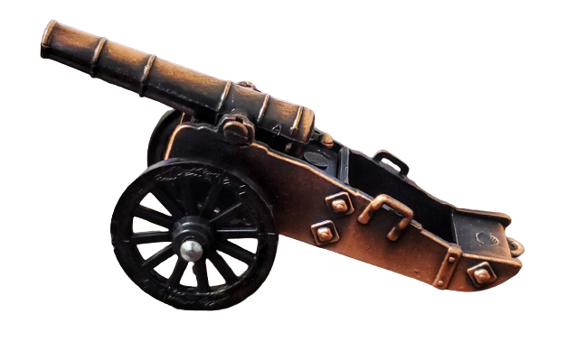 Replicas - Civil War Cannon Die-cast Pencil Sharper