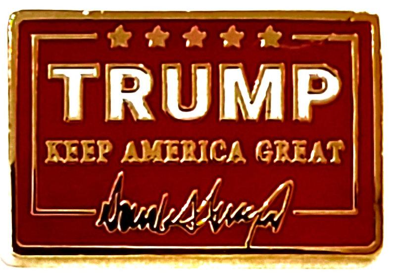 Trump Keep America Great Lapel Pin