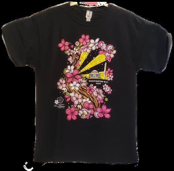 Adult T-shirt - National Cherry Blossom Festival 2020