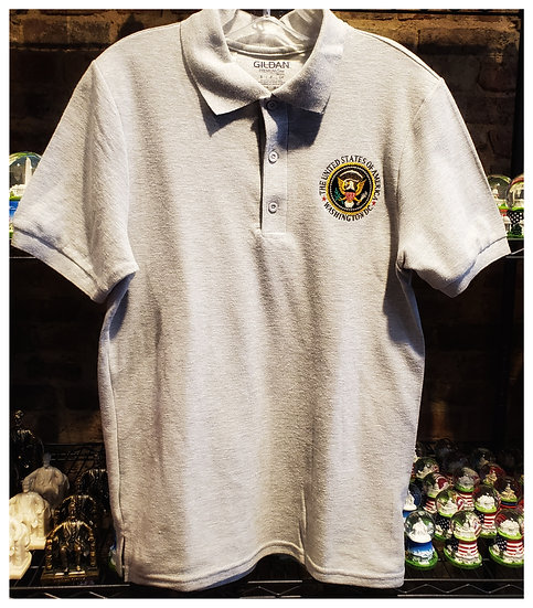 Adult Polo T-Shirt w/ Seal