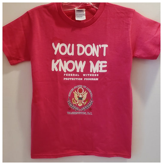 Kid T-Shirt - You Don't Know Me T-shirt - 2 Colors