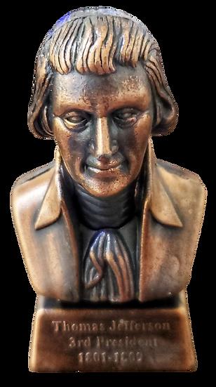 Replica - Thomas Jefferson Die-cast Pencil Sharper