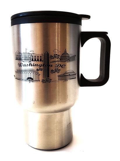 Monuments with Handle Travel Mug
