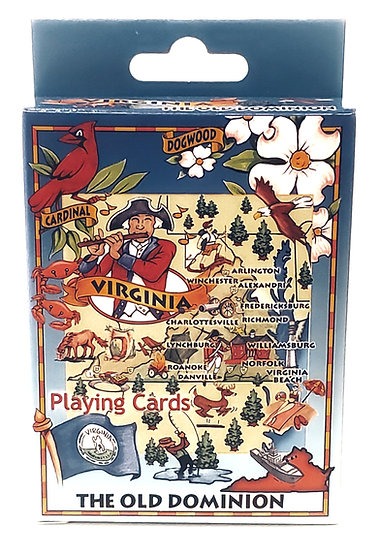 Playing Cards - Virginia The Old Dominion