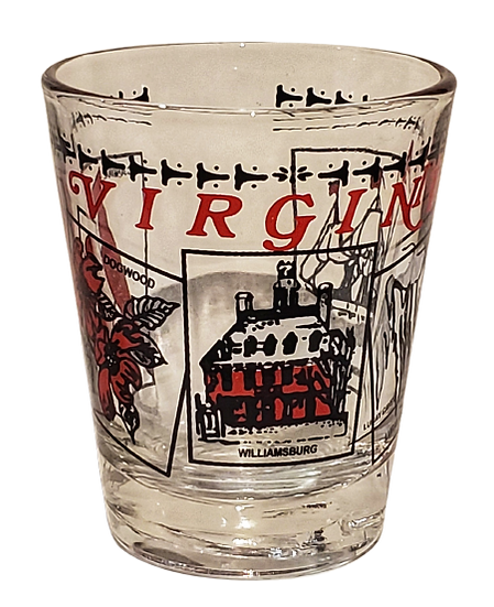 Shot Glass - Williamsburg Virginia