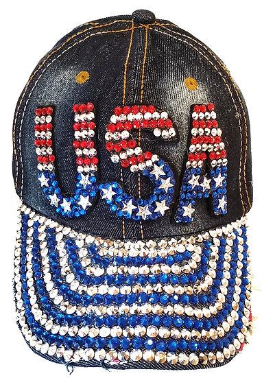 Cap - USA RWB