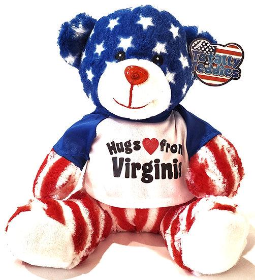 Bear - American Flag Teddy