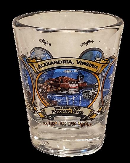 Shot Glass - Alexandria Virginia Water Front