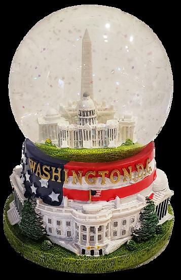 Snow Globe - Monument Capitol White House