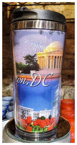 Travel Mug - Washington, DC Photo Wrap