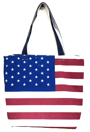 Tote bag - Canvas Flag