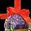 Thumbnail: Washington DC Christmas Ornament Set