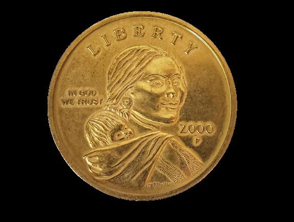 """Jumbo Coin - Dollar Replica - 3"""""""