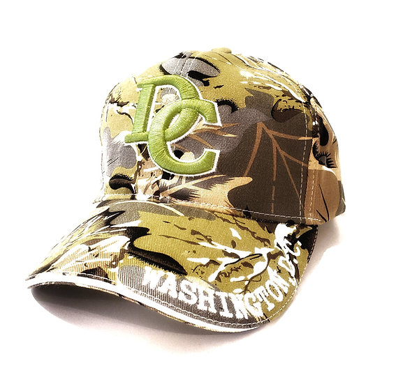 Cap - Washington DC Camo