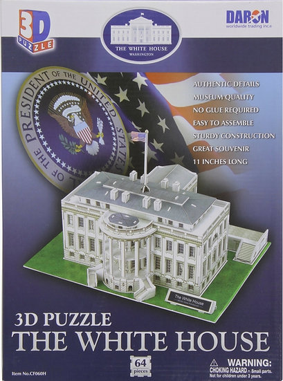 Puzzle - 3D White House