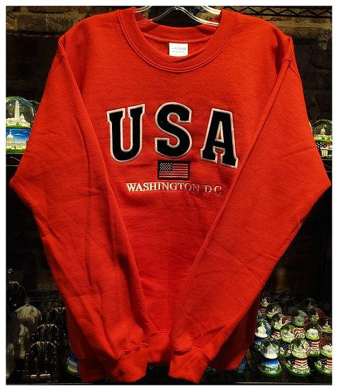 Crewneck USA - 3 Color Options Sweatshirt