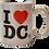 Thumbnail: Mini Mug - I Heart DC