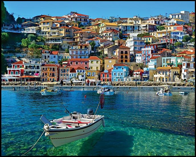 Parga Greece 1000 Piece Jigsaw Puzzle