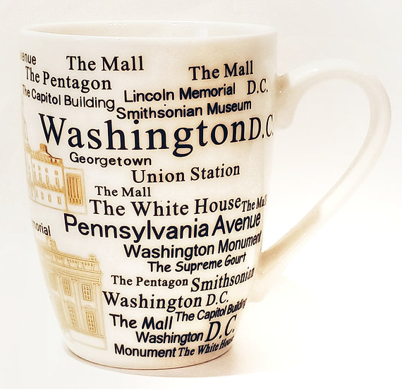 Mug - Places of Interest (Washington, DC)