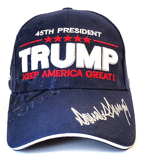 Cap - Trump 45th President Signature