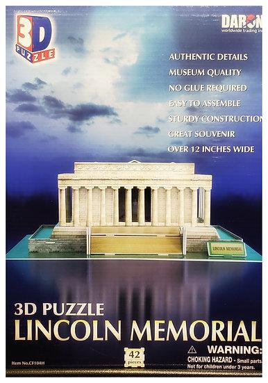 Puzzle - 3D Lincoln Memorial