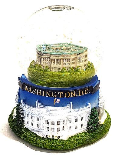 Washington DC Pentagon Snow Globe