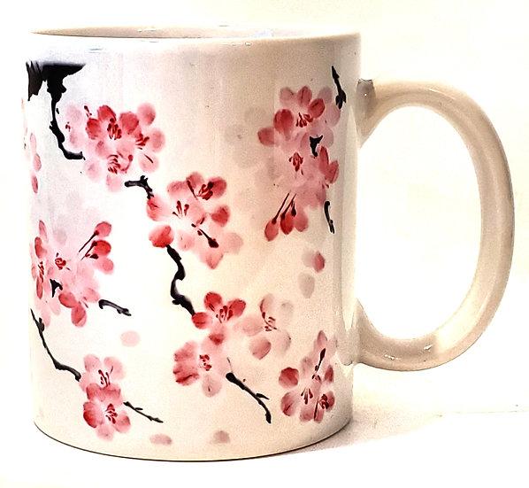 Mug - Japanese Cherry Blossom Petals Sublimation