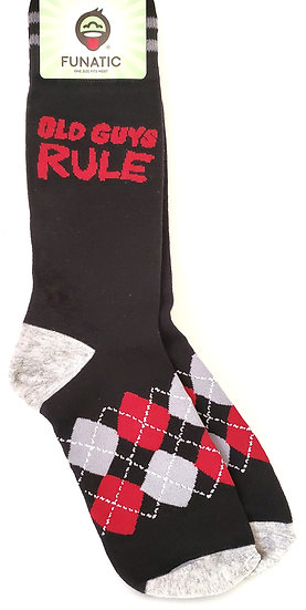 Old Guys Rule Sock