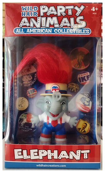 All American Collectibles Party Animals - Elephant