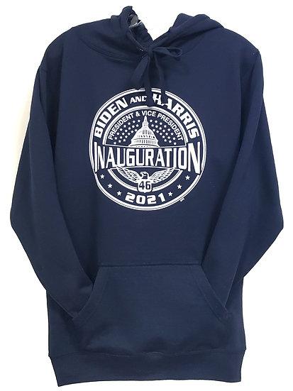 Sweatshirt - 2021 Biden Harris 46th Inaugural - Navy